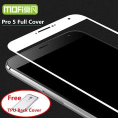 meizu pro 5 glass tempered MOFi meilan mx5 pro5 screen protector 2.5D full cover black protection pro 5 glass 5.7 film