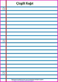 Kılavuz 199 Izgili Kağıt Şablonu Sınıf Evrakları Net 1
