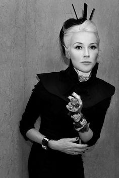 """""""It's a barrier and also a form of self respect. We are the only species on earth that clothe ourselves, so why don't clothe ourselves well.""""  - Daphne Guinness"""