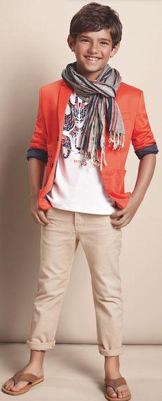 Hugo Boss kids fashion, summer collection PV 15
