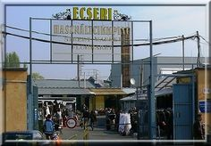 Ecseri Flea Market in Budapest. I love this place. This site is in Hungarian, but just google Ecseri for English sites.