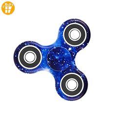RFDH Fidget Spinner, Fidget Finger Spinner Portable Tri-Spinner Arbeit Ultra Fast Bearings Finger Spielzeug Stress Reducer ideal für Angst und Autismus Erwachsene Kinder - Fidget spinner (*Partner-Link)