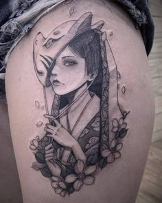tattoos in japanese prints Japanese Tattoo Cherry Blossom, Japanese Girl Tattoo, Japanese Tattoo Words, Japanese Tattoo Meanings, Japanese Sleeve Tattoos, Tribal Sleeve Tattoos, Leg Tattoos, Girl Tattoos, Tattoos For Guys