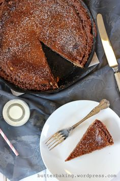 nutella crack pie. OMG! As if crack pie isn't enough...it came from the Nutella jar!!