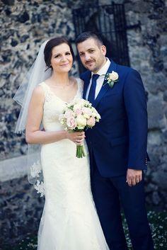 Priestfield Stadium wedding of Laura and Ricky