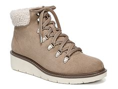 01b7ea90e0d1 Women Sentinel Wedge Bootie -Beige Wedge Bootie