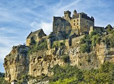 The Château de Beynac by philhaber, via Flickr ~ Aquitaine, France