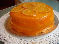 Tarta Naranja de Pastelerías Zuricalday de Getxo (Vizcaya)