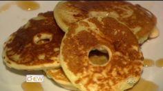 Fried Apple Pancake Rings