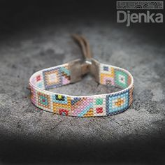 Bransoletka etniczna - beading - Petare - Djenka