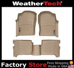 WeatherTech® Floor Mats FloorLiner - Toyota 4Runner - 1996-2002 - Tan #WeatherTech ...ok... somewhat realistic =) $198 TO PURCHASE: http://www.ebay.com/itm/WeatherTech-Floor-Mats-FloorLiner-Toyota-4Runner-1996-2002-Tan-/260912459953?pt=Motors_Car_Truck_Parts_Accessories&fits=Year%3A2002%7CModel%3A4Runner&hash=item3cbf9830b1&vxp=mtr