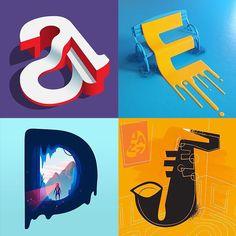 36 dana tipografije: kreativni izazov za dizajnere #design #designers #creative #typography #type #designchallenge