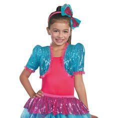 Turquoise Dance Craze Bolero Girls Halloween Costume