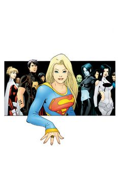 Supergirl & the Legion Of Superheroes by Barry Kitson