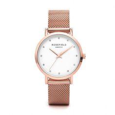 Women's Rose Gold/Gold Quartz Watch (Mesh band)