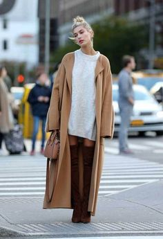 Camel woolcoat inspiration Photo: All Over Press