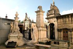 Picture of La Recoleta Cemetery in Buenos Aires, Argentina