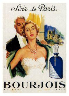 Image detail for -Vintage Posters - Soir De Paris Bourjois