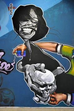 28 toiles et créations Street Art de Stamatis Laskos