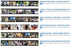 Video Blogger - Youtuber - VLOG - Fashion Blog und Reiseblog - FMA Videos und Unboxing Videos