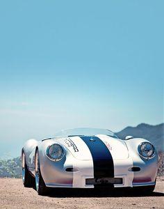 #Porsche 550 #Spyder #Car #SportCar #Auto
