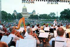 Yankee Doodle Pops, Independence Day Celebration in Downtown Des Moines