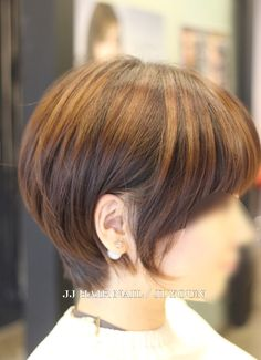 Ideas for hair styles elegant medium Asian Haircut, Pixie Haircut, Balayage Brunette, Hair Color Balayage, Permed Hairstyles, Short Hairstyles For Women, Medium Hair Styles, Short Hair Styles, Cut Her Hair