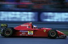 Scuderia Ferrari                                   No.27 Jean ALESI                            FERRARI 412T2                            Tipo044/1 NA3.0L V12 Goodyear