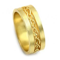 Shop for Buy Handmade Jewelry Yellow Gold Plated Plain Chain Band Rings for Women, Check out this great deal on Glittering Chain Band Ring . Handmade Rings, Handmade Jewelry, Latest Ring Designs, Band Rings, Plating, Wedding Rings, Engagement Rings, Chain, Yellow