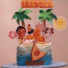 E ele como o barquinho??? Morriiii de tão lindo!!!! ❤❤❤Topper cake translumbrante @mimosdababy #degrade #chocolate #delicious #niver #moana #disney #princesa #sobrinha #amor #love #feliz #buttercream #chantilly #chantininho #hellenpaulacakes #clubcakebr
