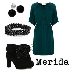 """Modern day Merida"" by angelica-infinity on Polyvore"