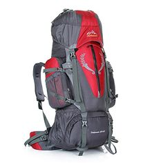 Outdoor mountaineering bag waterproof nylon large-capacity Sport Backpack ** Don't get left behind, see this great product : Backpacking gear