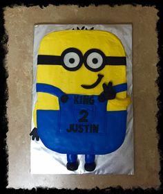 Minion 2nd Birthday sheet cake
