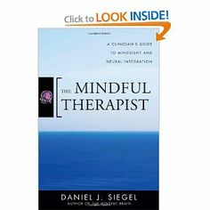 Amazon.com: The Mindful Therapist: A Clinician's Guide to Mindsight and Neural Integration (Norton Series on Interpersonal Neurobiology) (9780393706451): Daniel J. Siegel: Books