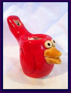 Red Bird Water Whistle
