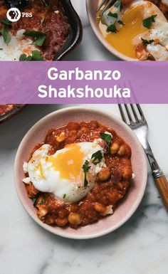 Have this garbanzo shakshouka dish for breakfast, lunch or dinner! It's a versatile meal that can be eaten at any time.