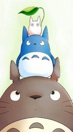 "mon voisin totoro 👉🏽👉🏽A Studio Ghibli ""My Neighbor Totoro"" fan?Do you like these Totoro Crafts Ideas? me for more Totoro Gif? Manga Anime, Film Anime, Anime Art, Ponyo Anime, Hayao Miyazaki, Studio Ghibli Films, Chibi, Tsurezure Children, My Neighbor Totoro"