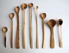 Nic Webb's wooden spoons