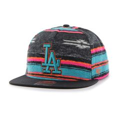 best service ea715 aaf42 Los Angeles Dodgers Chapparal Captain Dt Black 47 Brand Adjustable Hat