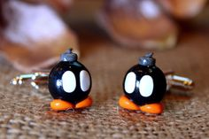 76e417e3d76 Super Mario Bros Bob-omb Bomb-Omb Bomb Omb Cufflinks Jewellery. on Etsy