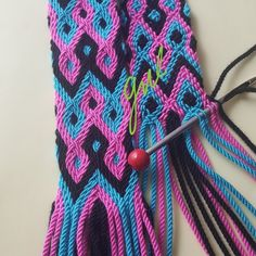 Tapestry Crochet, Knit Crochet, Crochet Projects, Diy And Crafts, Braids, Weaving, Felt, Purses And Bags, Knitting