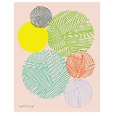 Elizabeth Grubaugh Yarn Print #laylagrayce