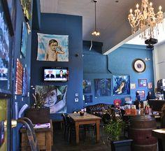 Místa, kde jsem jedl: 144 KING Art Café ... zvláštní umění, ale dobré jídlo