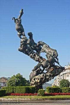 Plaza de España en Vigo
