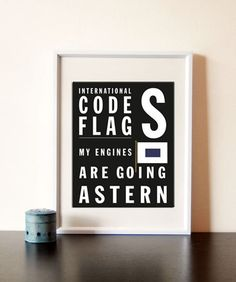 Bus Roll Code Flag letter S  Buy 3 get the 4th by Empressionista, $20.00