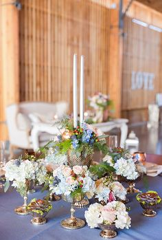 Wedding Table Florals. Photo from Your Jubilee collection by Ryan Nicole Photography