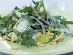 Linsen-Birnen-Salat mit Rucola - smarter - Zeit: 15 Min. | eatsmarter.de Linse, Birne, Rucola ... lecker!