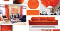 Az év színe: Tangerine Tango és a hozzá illő kőburkolat