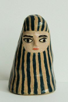 Little ceramic sculpture - The Pilgrim