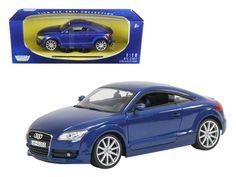 2007 Audi TT 1:18 Diecast Car Model by Motormax